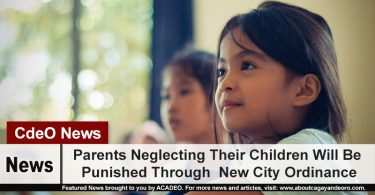 Parents Neglecting Their Children Will Be Punished Through New City Ordinance