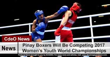 Pinay Boxers Will Be Competing 2017 Women's Youth World Championships
