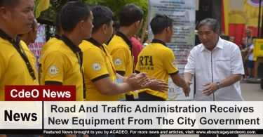 Road And Traffic Administration Receives New Equipment From The City Government