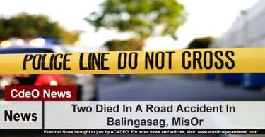 Two Died In A Road Accident In Balingasag, MisOr
