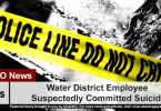 Water District Employee Suspectedly Committed Suicide