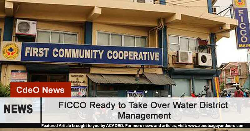 FICCO wants to take over COWD Management