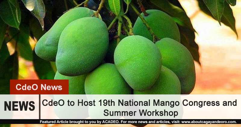 CdeO to Host 19th National Mango Congress and Summer Workshop