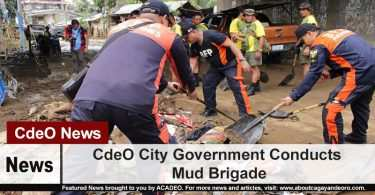 CdeO City Government Conducts Mud Brigade