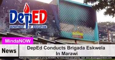DepEd Conducts Brigada Eskwela In Marawi