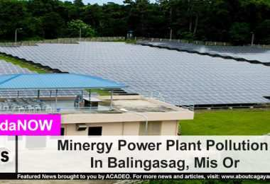 Minergy Power Plant Pollution In Balingasag, Mis Or