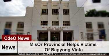 MisOr Provincial Helps Victims Of Bagyong Vinta