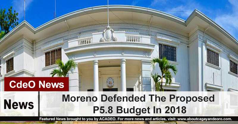 Moreno Defended The Proposed P5