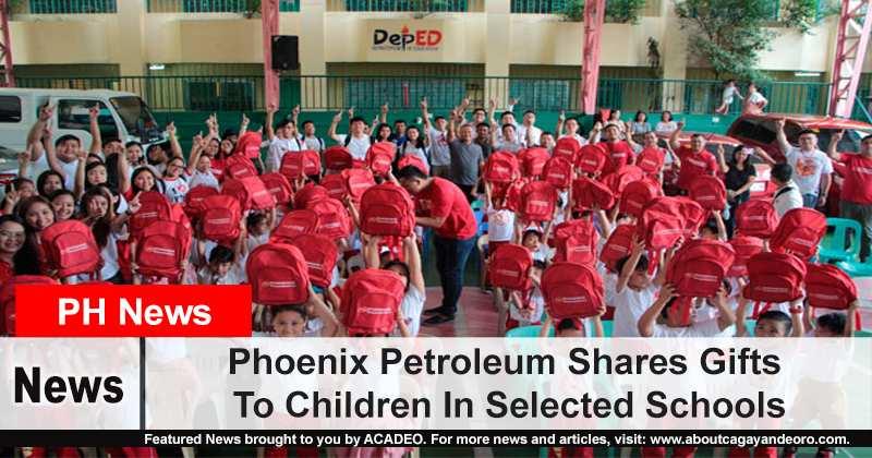 Phoenix Petroleum Shares Gifts To Children In Selected Schools