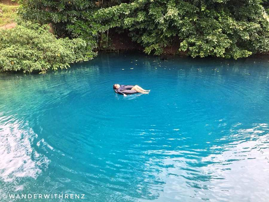 how to make blue water