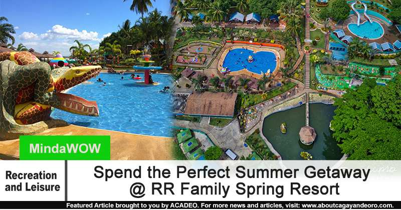 Spend The Perfect Summer Getaway Rr Family Spring Resort