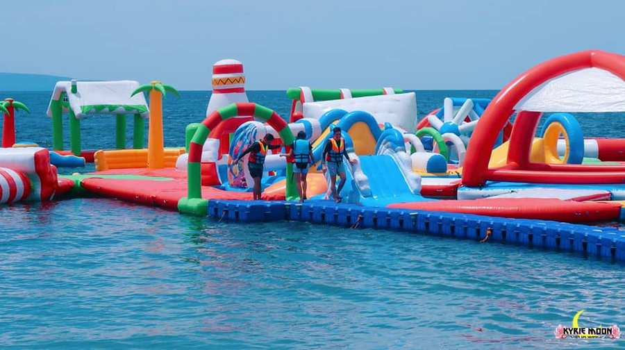 Enjoy The Summer With The Largest Inflatable Water Park In Mindanao