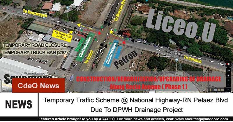Temporary Traffic Scheme
