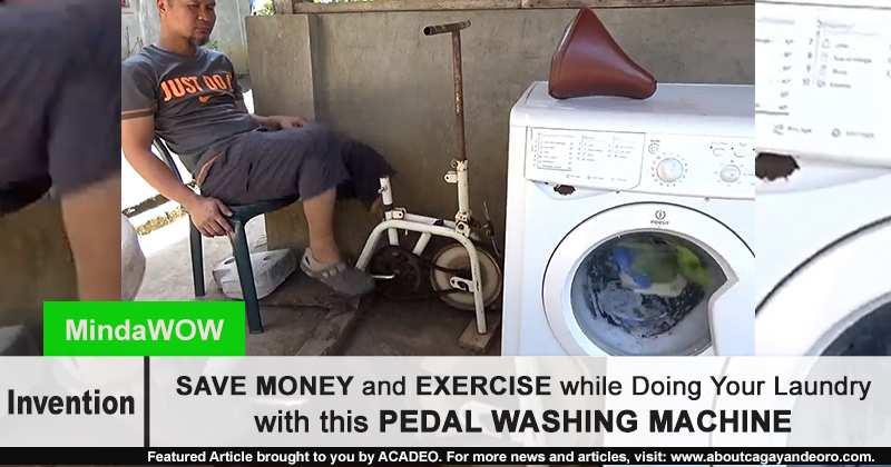 pedal washing machine