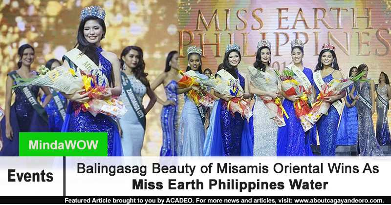 Miss Earth Philippines Water
