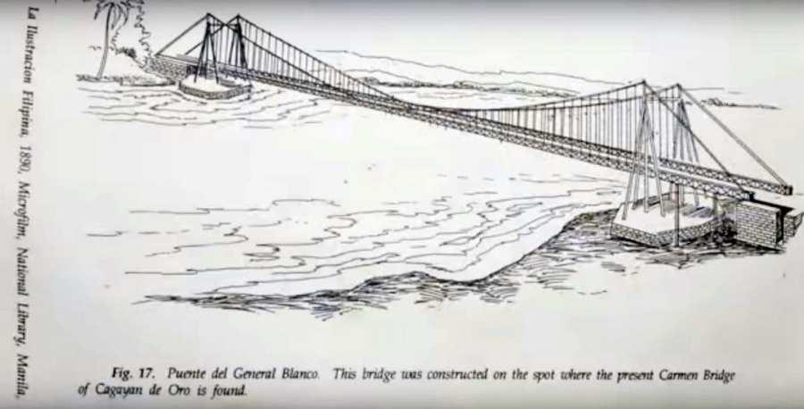 Puente del General Blanco Hanging Bridge In Cagayan de Oro City