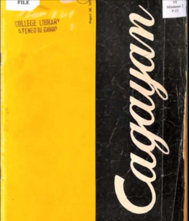 """""""Cagayan"""" Book about the first Bridge In Cagayan de Oro City"""