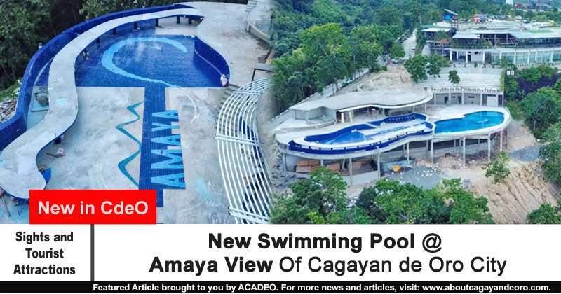 New Swimming Pool Amaya View Of Cagayan De Oro City