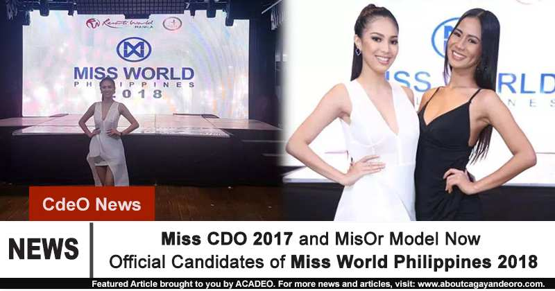 Miss World Philippines 2018