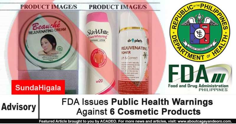Public Health Warnings