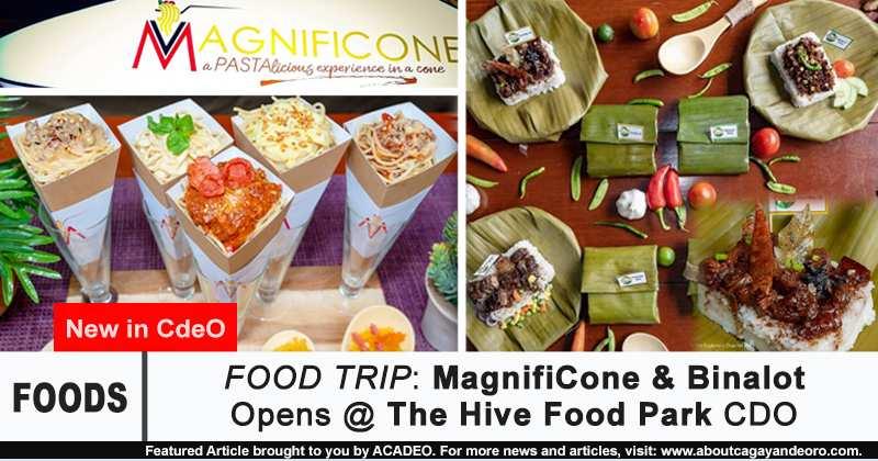 MagnifiCone and Binalot
