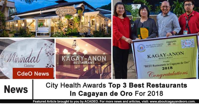 Top 3 Best Restaurants In Cagayan de Oro