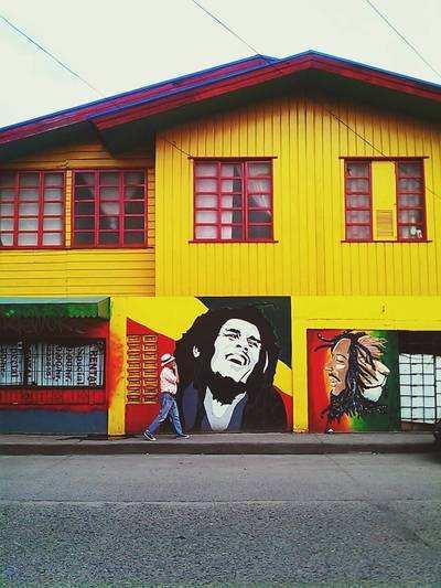 Bob Marley Grafiti by EyeEm along Corrales Avenue (around 4 years ago)
