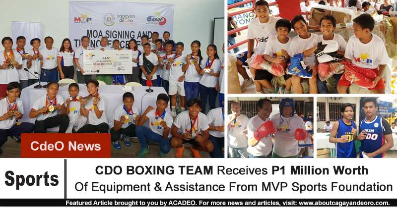CDO Boxing Team