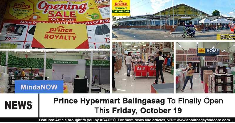 Prince Hypermart Balingasag