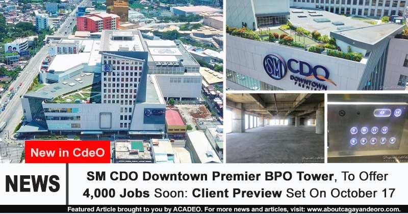 SM CDO Downtown Premier BPO Tower