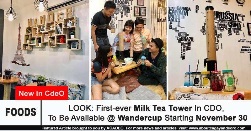 Milk Tea Tower