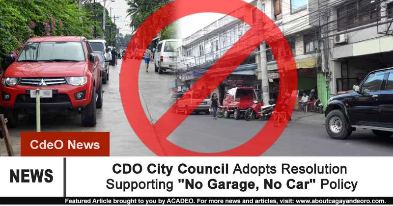 City council adopts resolution supporting no garage no for Garage auto city cadaujac