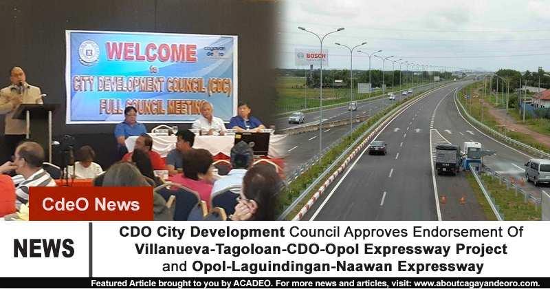 Villanueva-Tagoloan-CDO-Opol Expressway