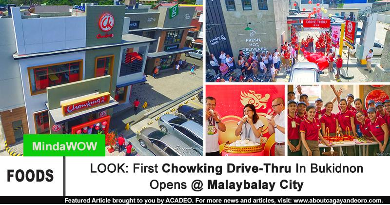 Chowking Malaybalay Drive-thru