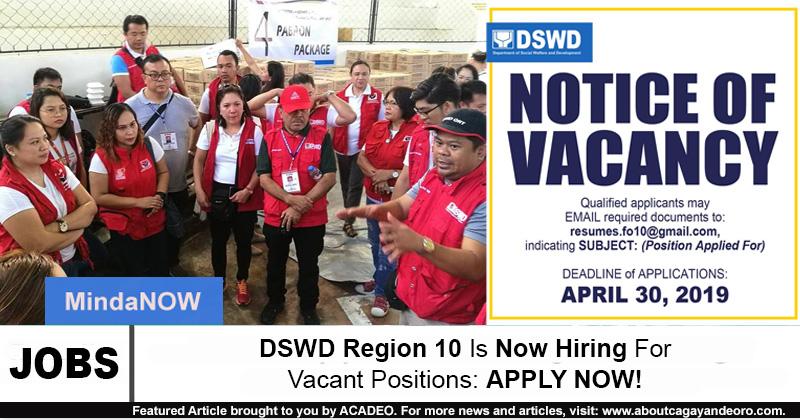 DSWD Region X