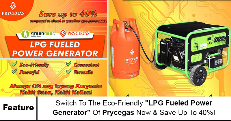 LPG Fueled Power Generator