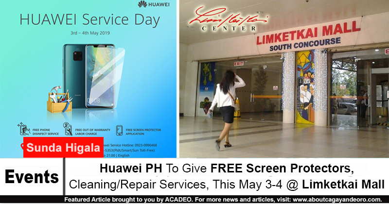 Huawei PH To Give FREE Screen Protectors, Cleaning/Repair Services