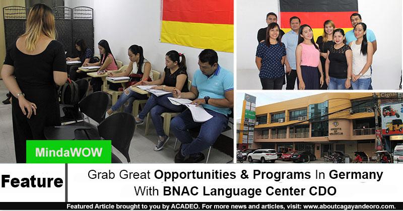 BNAC Language Center CDO