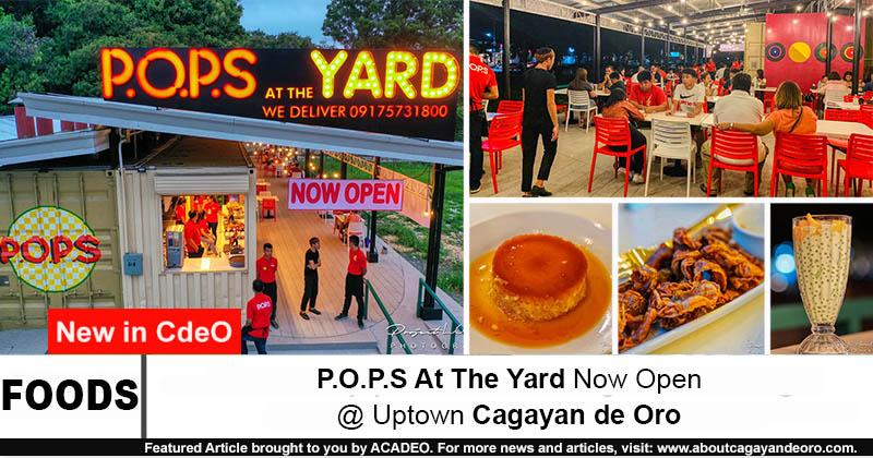P.O.P.S At The Yard