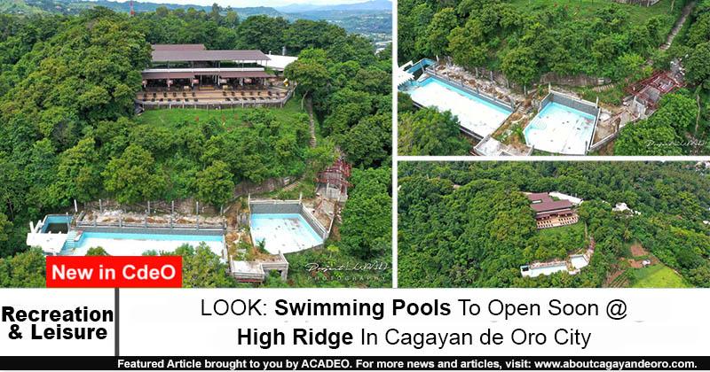 High Ridge swimming pool