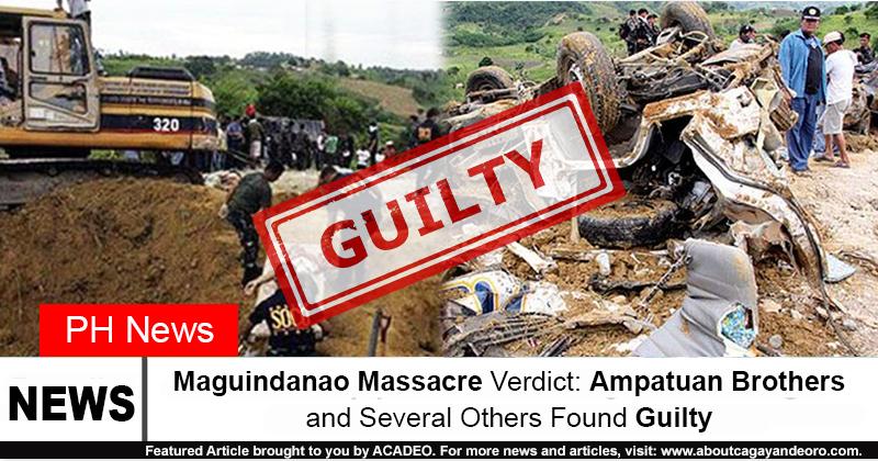 maguindanao massacre verdict