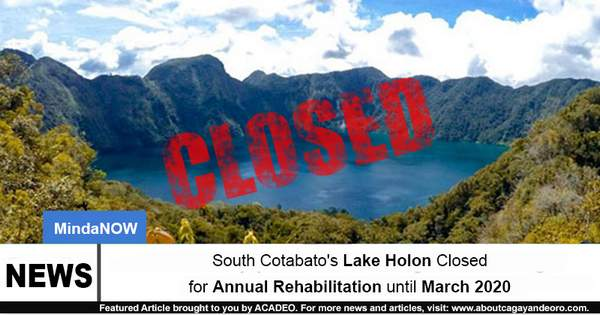 lake holon closed