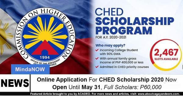 CHED Scholarship