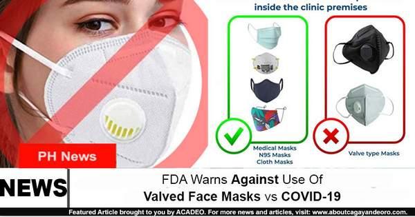 valved mask