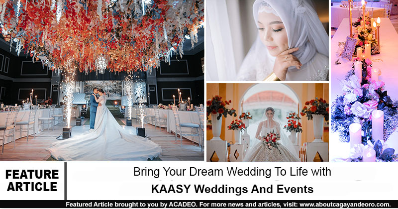 Bring Your Dream Wedding To Life With KAASY Weddings And Events