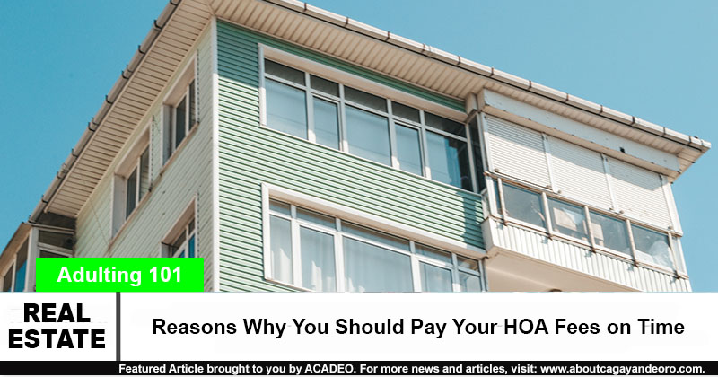 Reasons Why You Should Pay Your HOA Fees on Time