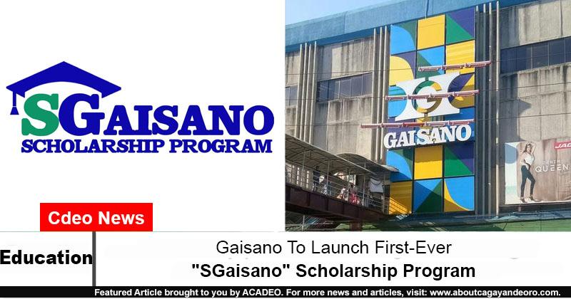 Gaisano Scholarship