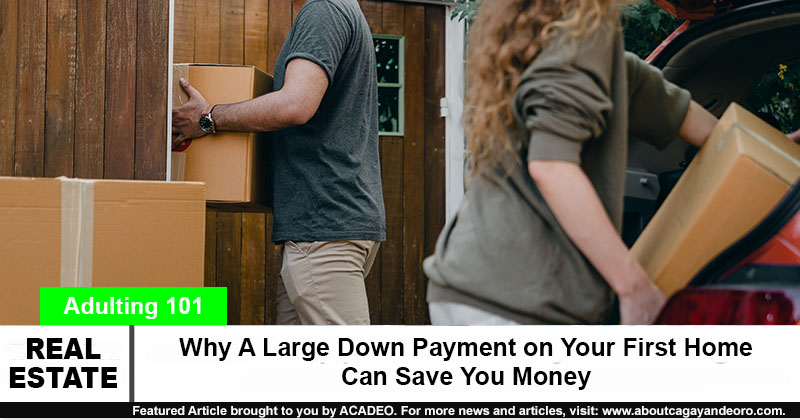 Why A Large Down Payment on Your First Home Can Save You Money - Buying Homes