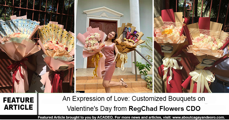 An Expression of Love: Customized Bouquets on Valentine's Day from RegChad Flowers CDO