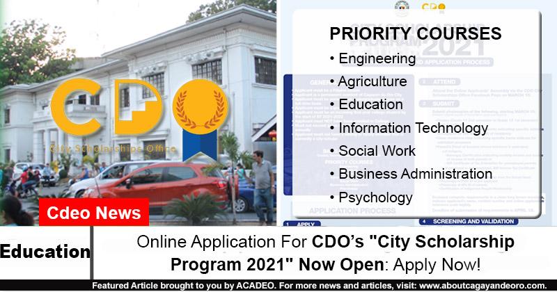 City Scholarship Program
